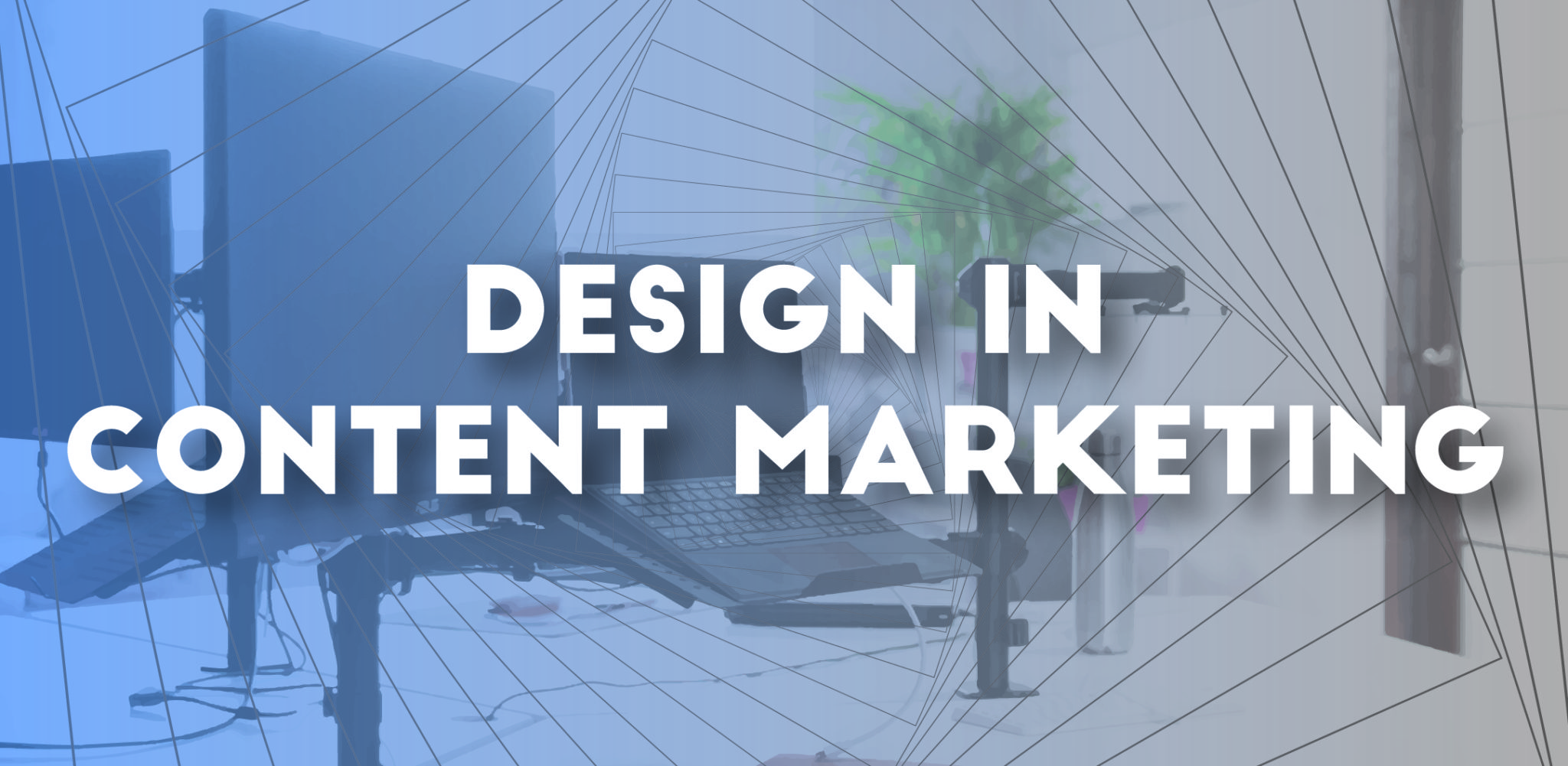 design in content marketing visual