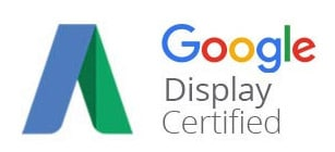 pay per click display company with certification