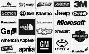 Well known companies that use Helvetica for example Jeep, Skype, Target, Microsoft, etc. Bad design trend number 4.