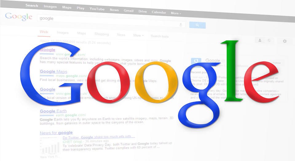 Google Search Engine & Logo