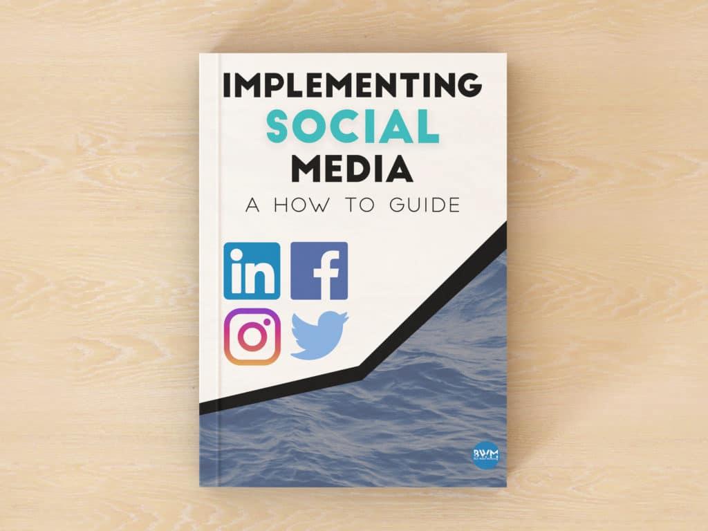 social media marketing ebook by blue water marketing