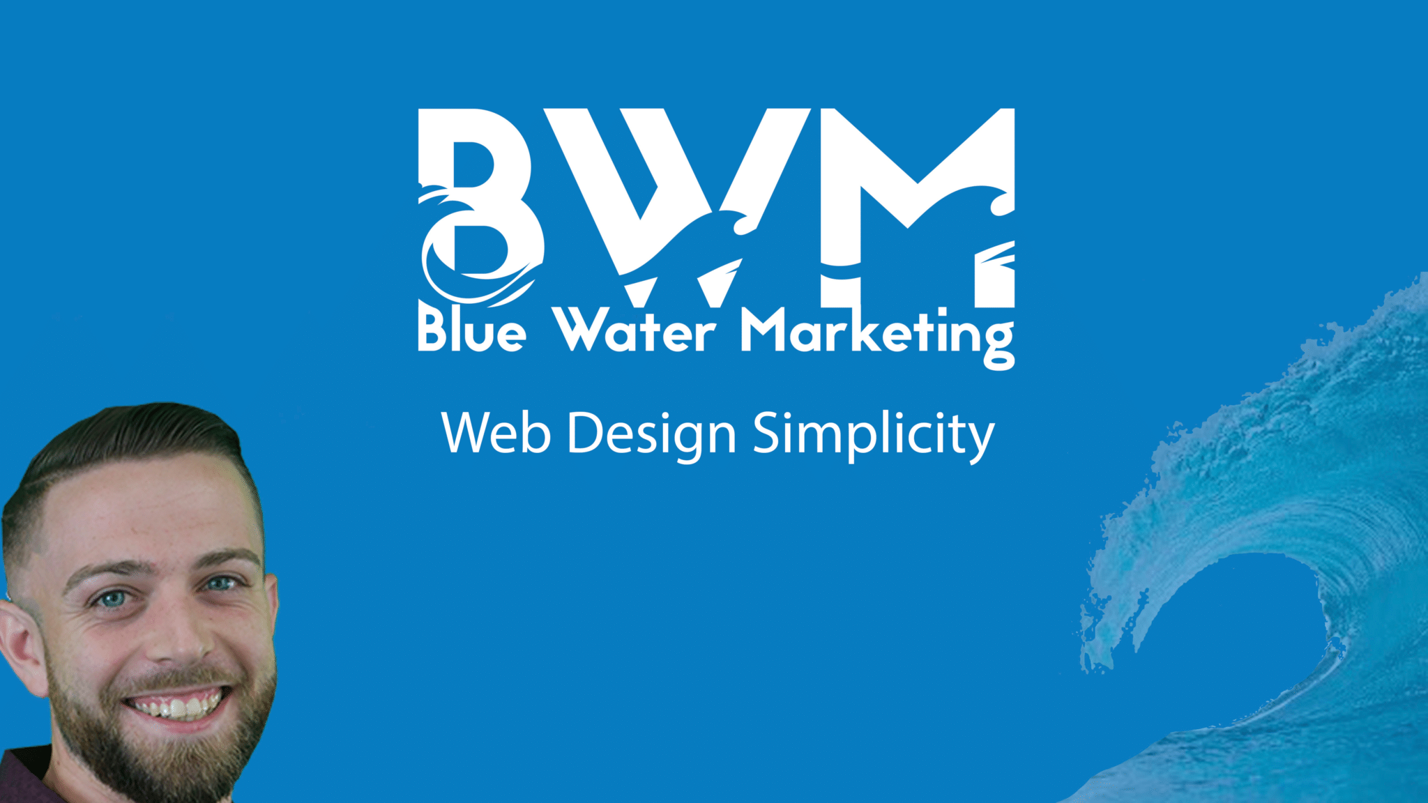 Blue Water Marketing Web Design Simplicity