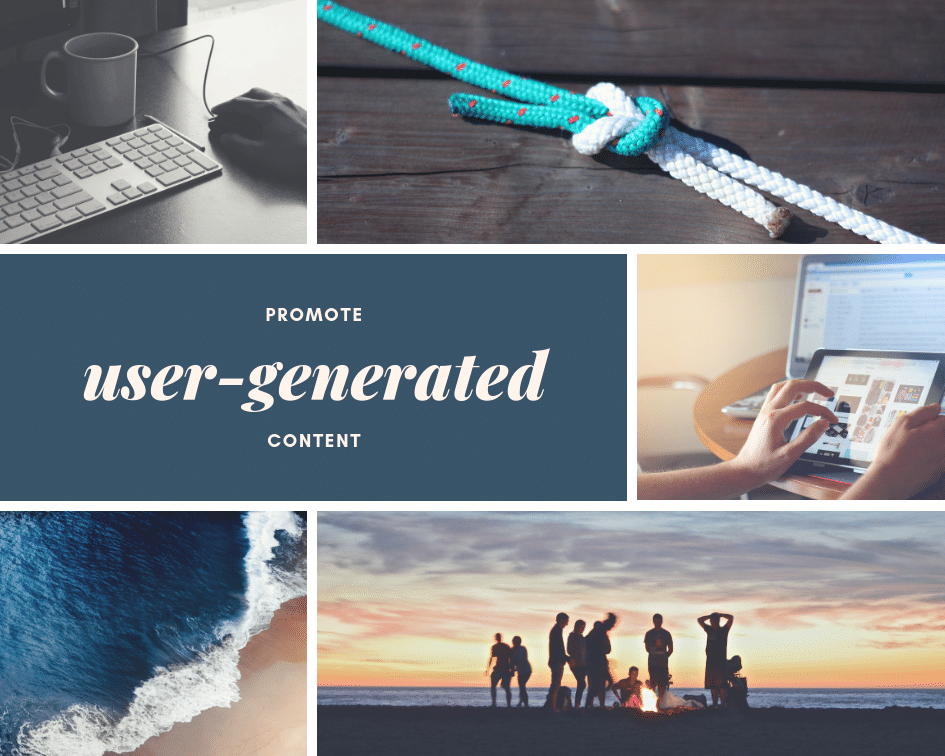 picture of user generated content for content creation and blog posting
