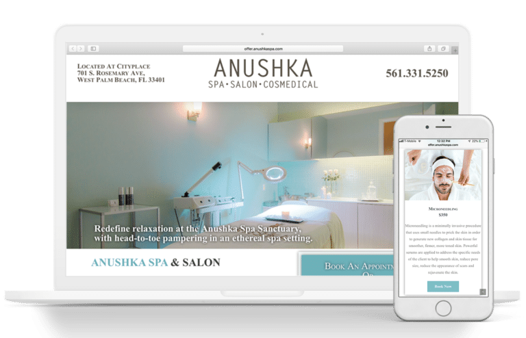 Anushka Website mobile optimized SEO