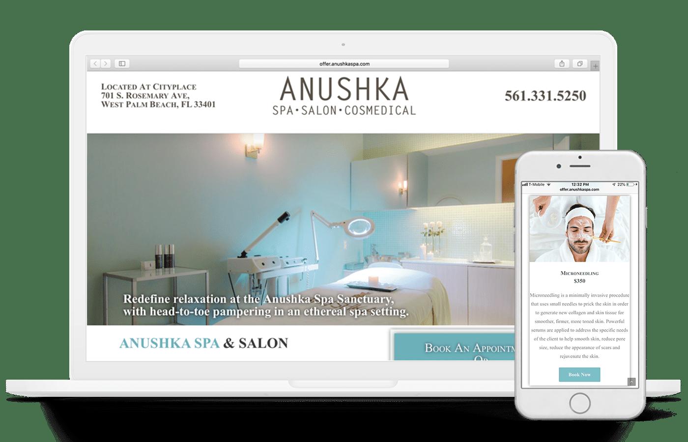 Anushka Website mobile optimized SEO