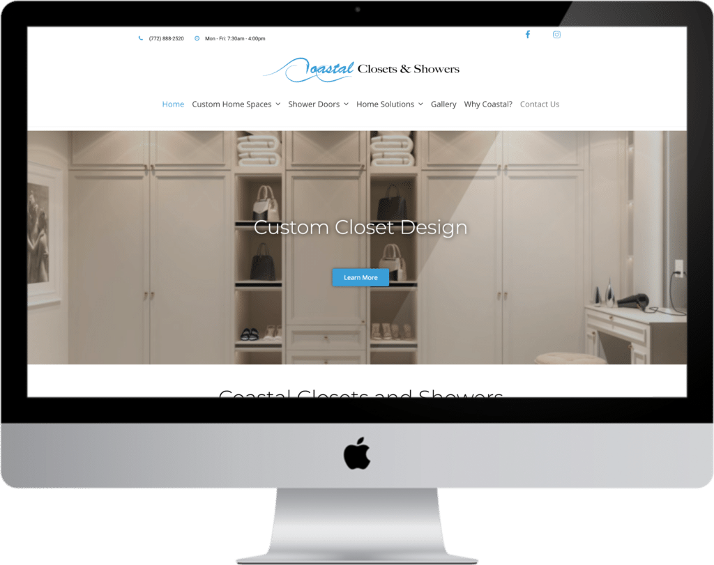 coastal web design