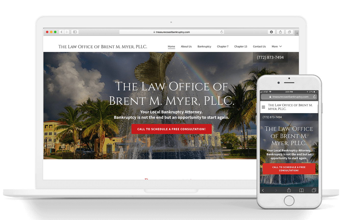 Myer Law Web Design