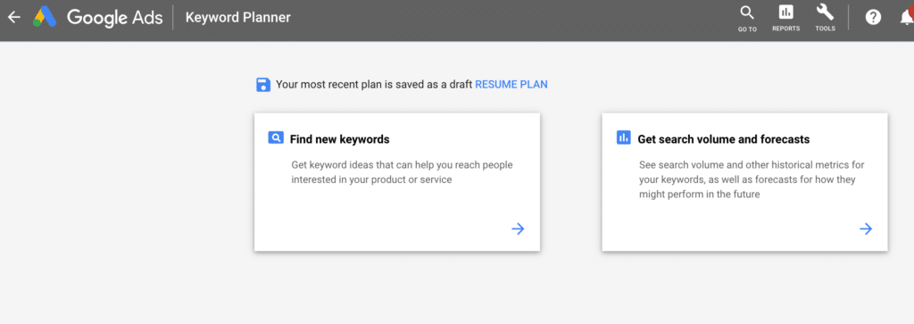 PPC Company Using Google Keyword Planner