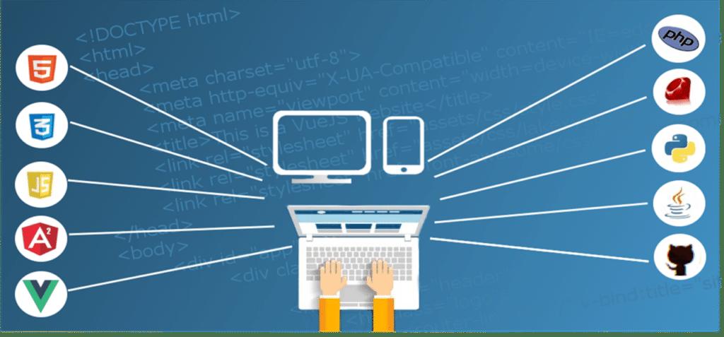 website design company header image