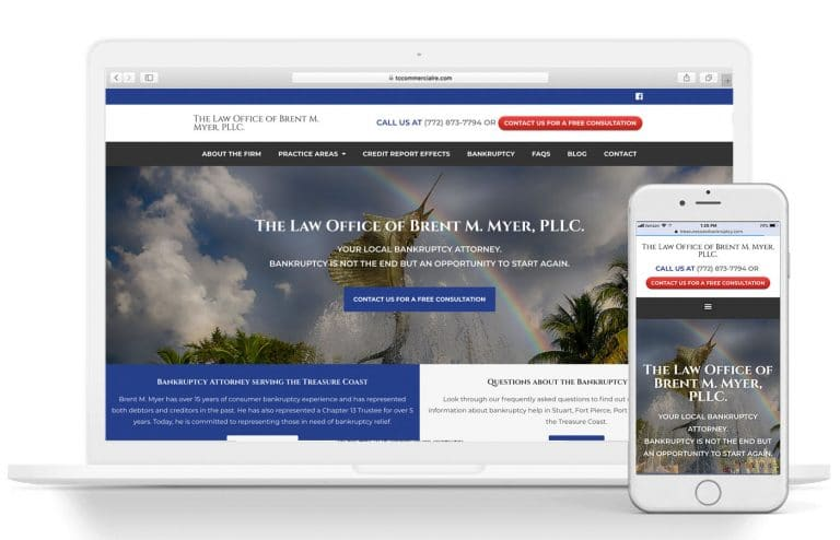 Law Office Of Brent M Myer New Website