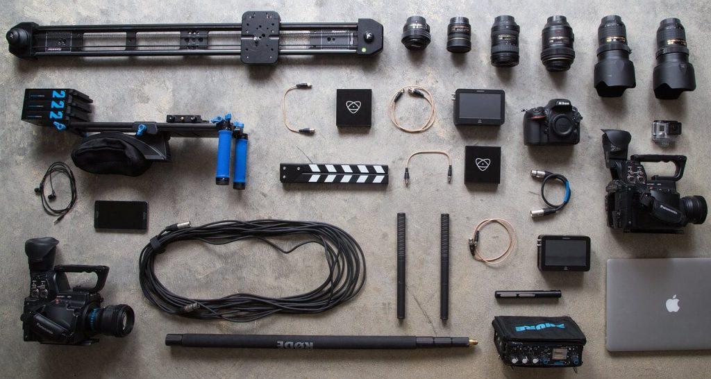 blue water marketing video equipment
