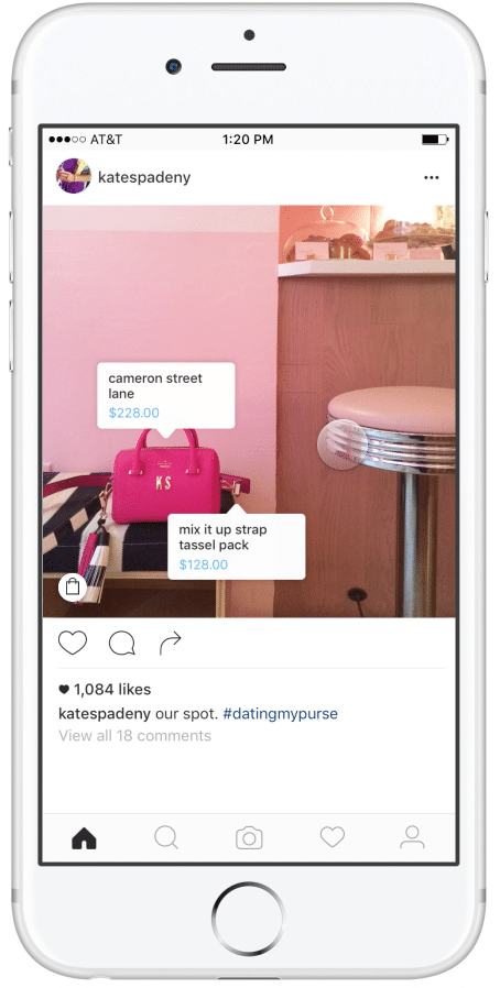 shopping on instagram new feature